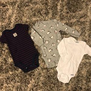 Other - Boys 3-6m onesie bundle